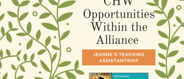 Opportunities with the Alliance: Jeanne