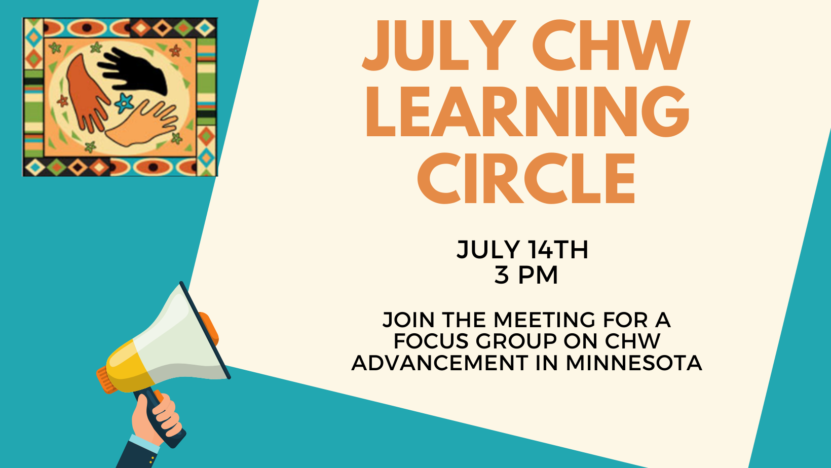 July CHW Learning Circle