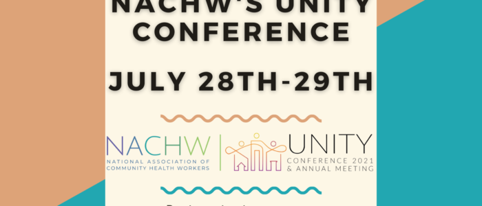 NACHW Conference July 28th-29th