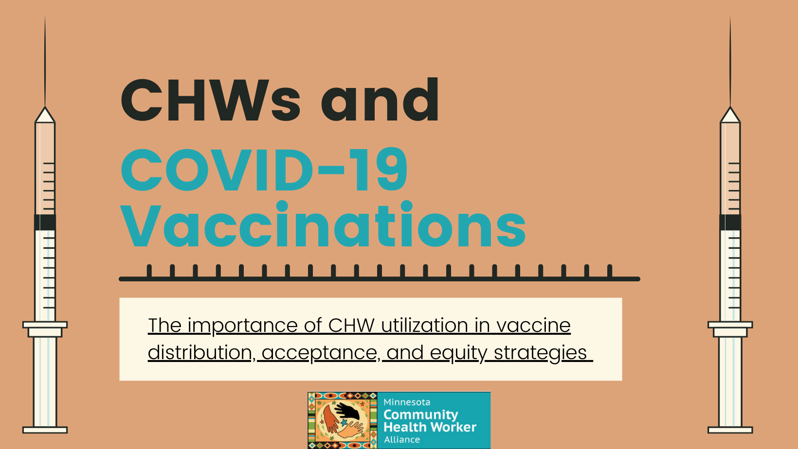 CHWs and COVID-19 Vaccination
